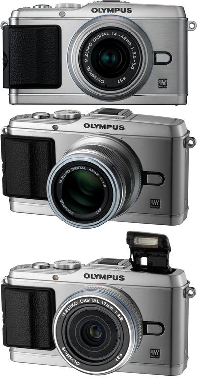 para 14-42mm Lente Completo hecho a mano de cuero real cámara caso para OLYMPUS Ep3 Ep-3