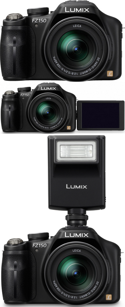 Panasonic Lumix DMC-FZ150, cambio radical (2/6)
